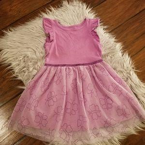 Cat & Jack butterfly tutu dress